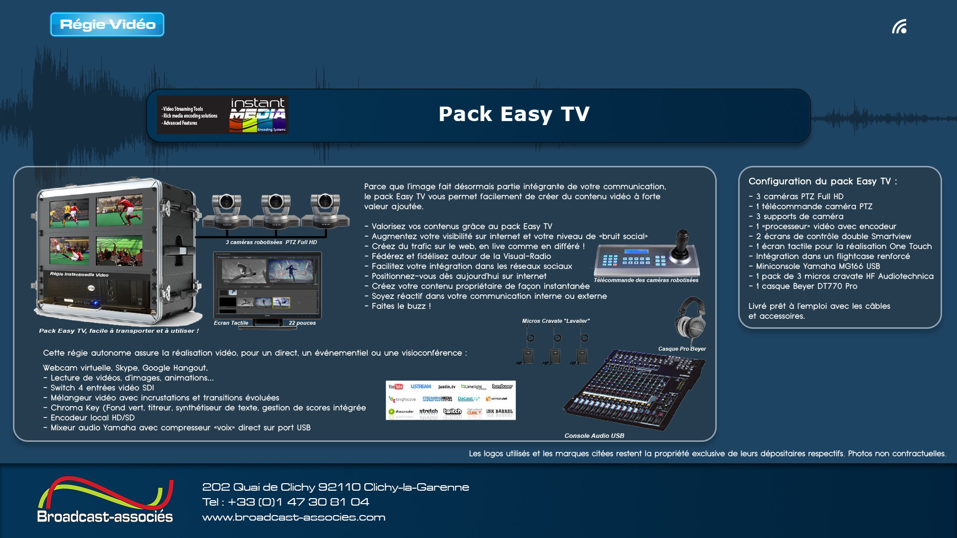 pack Easy TV
